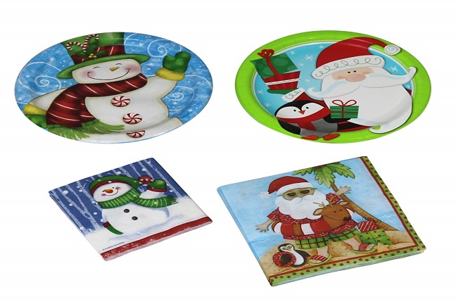 Christmas Paper Plates And Napkins.The 10 Best Christmas Paper Plates Reviews Paper Plate Hub